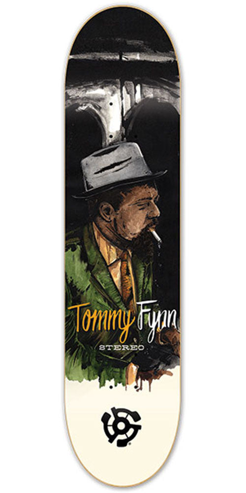 Stereo Tommy Fynn Jazz Skateboard Deck - Multi - 8.125in