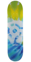 Stereo Tie-Dye Skateboard Deck - Blue/Green - 8.25in