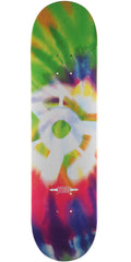 Stereo Tie-Dye Skateboard Deck - Green/Magenta - 8.12in