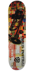 Stereo Chris Pastras Americana Skateboard Deck - Multi - 8.25in
