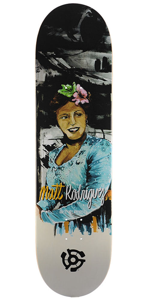 Stereo Matt Rodriguez Jazz Skateboard Deck - Multi - 8.3in