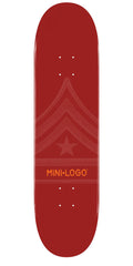 Mini Logo Skateboard Deck - 8.0 - Maroon Quartermaster