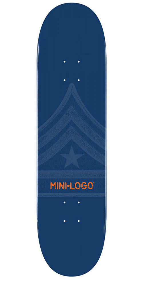 Mini Logo Skateboard Deck - 8.0 - Navy Quartermaster