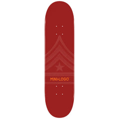 Mini Logo Skateboard Deck - Maroon Quartermaster - 8.5