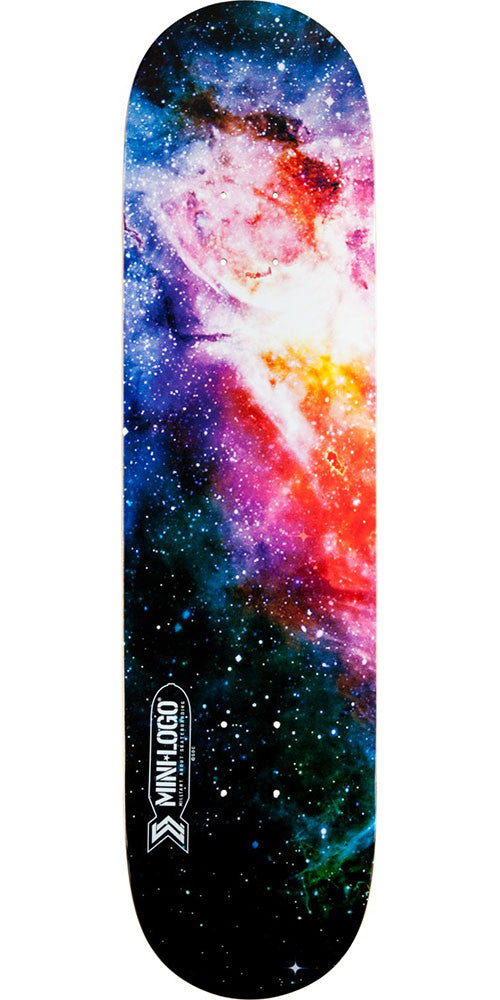 Mini Logo Small Bomb Skateboard Deck - Cosmic - 8.5in x 33.5in