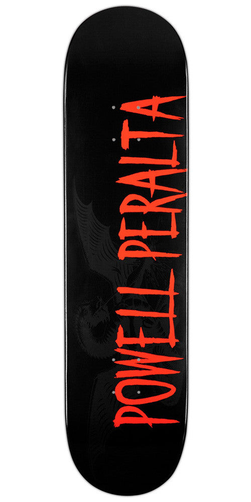 Powell Peralta Logo Skateboard Deck 8.25 - Black