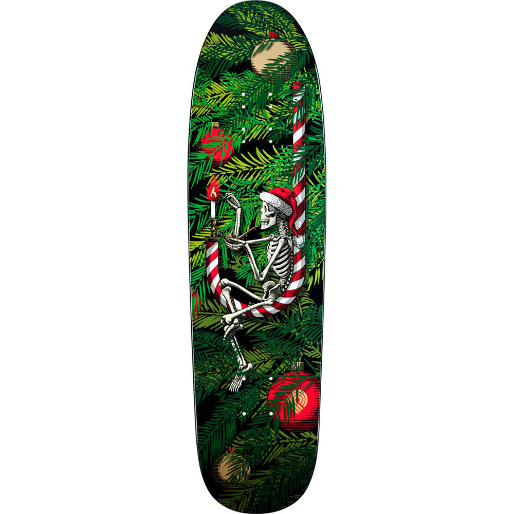 Powell Peralta 2013 Holiday Skateboard Deck - Green - 8.4in x 31.5in