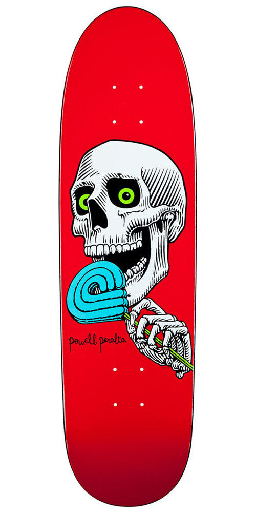 Powell Peralta Slappy Lolly P Skateboard Deck - Red - 8.5in x 30.5in