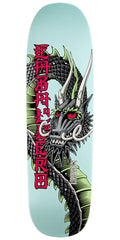 Powell Peralta Caballero Ban This Dragon Skateboard Deck - Aqua - 9.265in x 32.0in