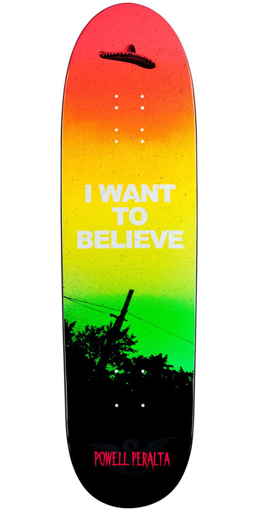 Powell Peralta Funshape Believe 2 Skateboard Deck - Multi - 8.6in x 31.84in