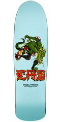 Powell Peralta Pro Steve Caballero 35th Year Anniversary Dragon Skateboard Deck - Blue - 9.0in x 31.9in