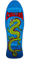 Powell Peralta Steve Caballero Chinese Dragon Skateboard Deck - Blue - 10.0in x 30.0in