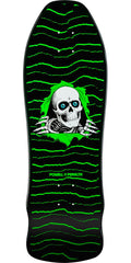 Powell Peralta Geegah Ripper Skateboard Deck - Black/Green - 9.75in x 30.0in