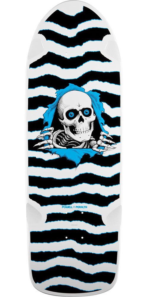 Powell Peralta OG Ripper Skateboard Deck - Black/White - 10.0in x 31.0in