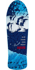 Powell Peralta Animal Chin 30th Anniversary Skateboard Deck - Blue - 10.00in x 30.00in