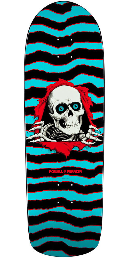 Powell Peralta Ripper Skateboard Deck - Blue - 10in x 31.75in