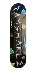 Ramshakle Saved By The Shakle Skateboard Deck - Black - 8.0
