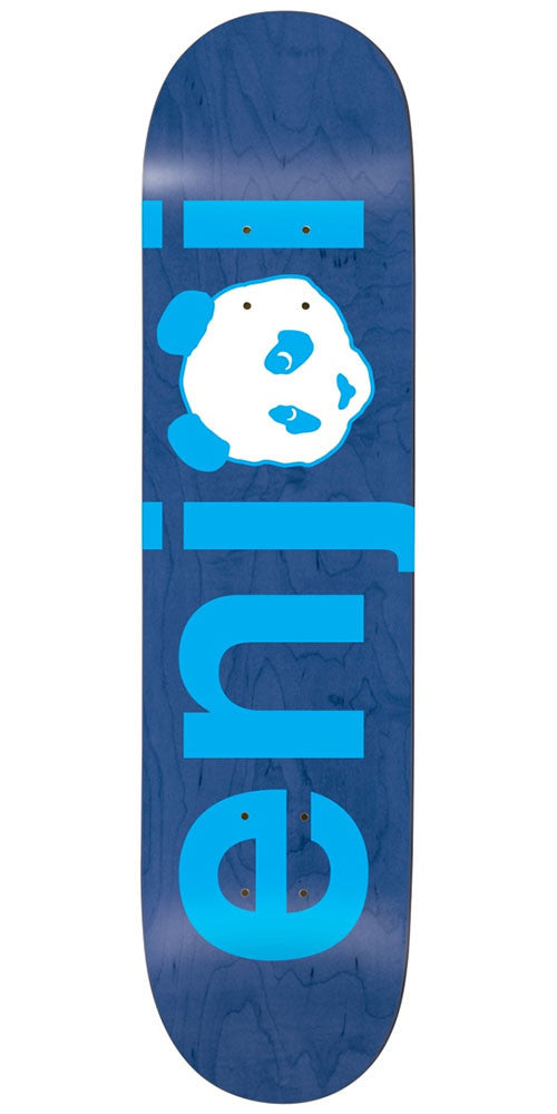 Enjoi No Brainer HYB Skateboard Deck - Blue - 8.0in
