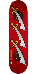 Enjoi Ben Raemers Ancestry Red Impact Skateboard Deck - Red - 8.0in