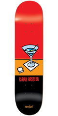 Enjoi Clark Hassler Wray R7 Skateboard Deck - Red/Black - 8.25in
