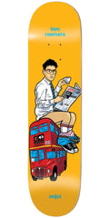 Enjoi Ben Raemers Upper Decker Bus R7 Skateboard Deck - Orange - 8.25in