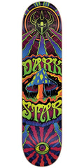 DarkStar Trippy HYB Skateboard Deck - Maroon - 7.75in