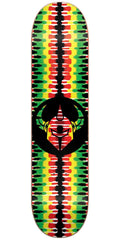 DarkStar Badge RHM Skateboard Deck - Rasta - 7.75in