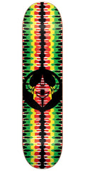 DarkStar Badge RHM Skateboard Deck - Rasta - 8.25in
