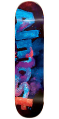 Almost Blotchy Logo HYB Skateboard Deck - Blue - 7.5in