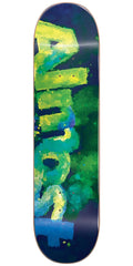 Almost Blotchy Logo HYB Skateboard Deck - Green - 8.0in