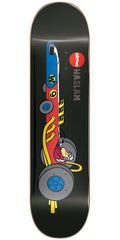 Almost Chris Haslam Wacky Races Impact Light Skateboard Deck - Black - 8.5in