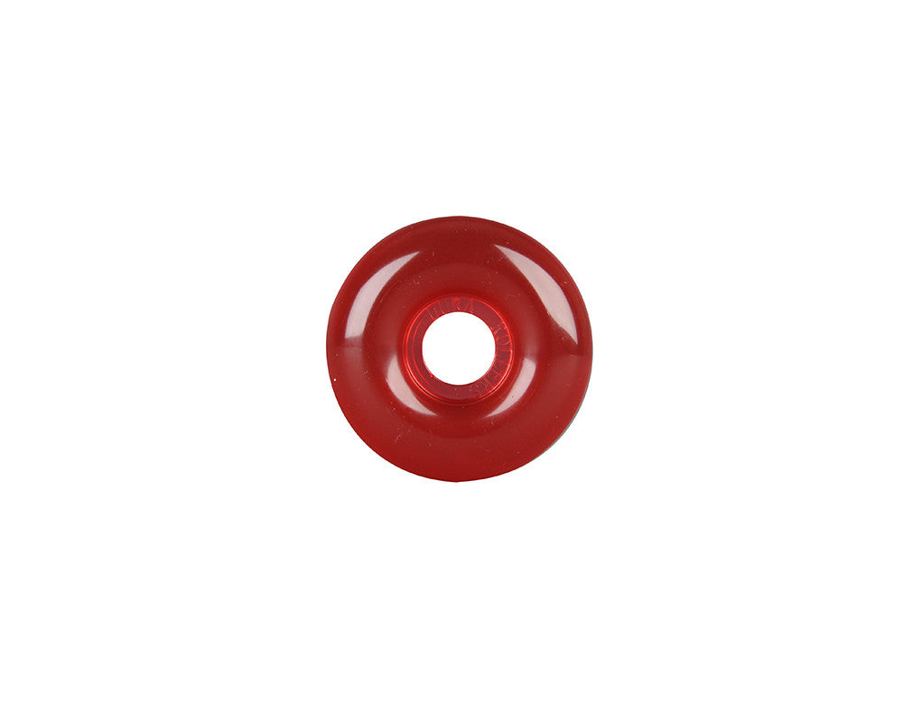 Rock On Skateboard Wheels 53mm 99a - Red Gel (Set of 4)