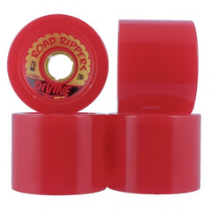 Divine Road Rippers Skateboard Wheels 75mm - Red (Set of 4)