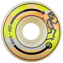 Alien Workshop Dill Send Help Skateboard Wheels 51mm - Custom White (Set of 4)