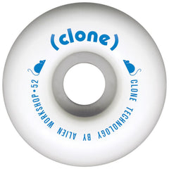 Alien Workshop Conical Clone Skateboard Wheels - White - 52mm (Set of 4)