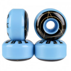 Zero Cult Skateboard Wheels 53mm - Blue (Set of 4)