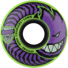 Spitfire 80HD Charger Classic Skateboard Wheels - Green - 54mm 80a (Set of 4)
