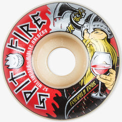 Spitfire Formula Four Hjalte Warlord Classic Skateboard Wheels - Multi- 52mm 99a (Set of 4)