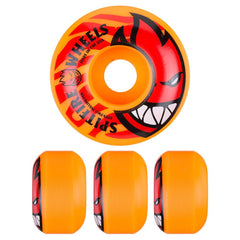Spitfire Bighead Electrofire Skateboard Wheels - Orange - 52mm 99a (Set of 4)