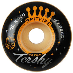 Spitfire Formula Four Tershy King Of Speed Skateboard Wheels - Multi - 53m 99a (Set of 4)