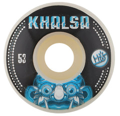 Habitat Khalsa Bali Mask Skateboard Wheels 53mm - White (Set of 4)