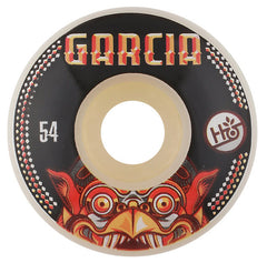 Habitat Garcia Bali Mask Skateboard Wheels 54mm - White (Set of 4)