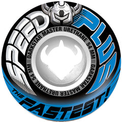 Darkstar Accelerator Speed Plus Skateboard Wheels 54mm - Royal (Set of 4)