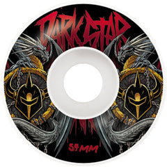 Darkstar Abyss Price Knight Skateboard Wheels - Red - 54mm (Set of 4)