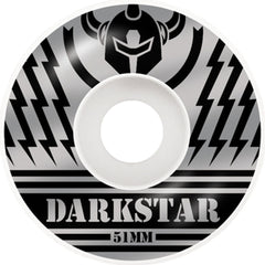 Darkstar Blunt Price Knight Skateboard Wheels - Silver/Black - 51mm (Set of 4)