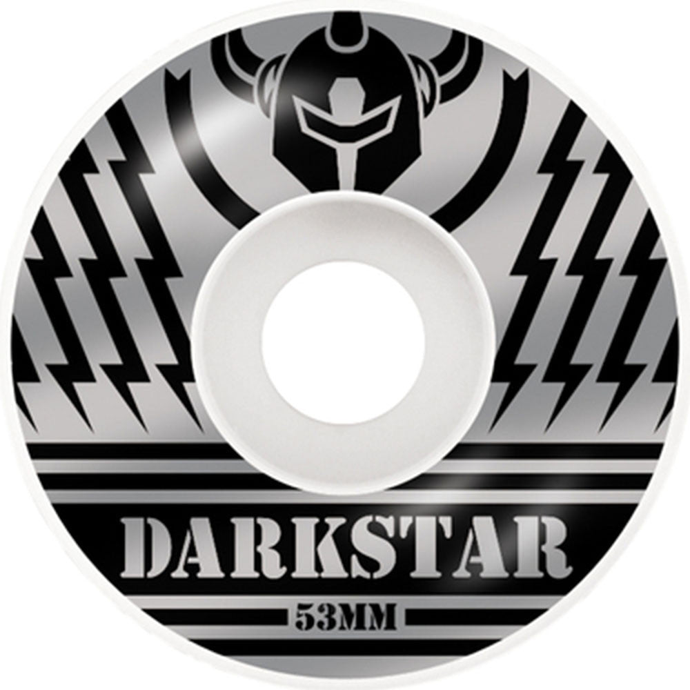 Darkstar Blunt Price Knight Skateboard Wheels - Silver/Black - 53mm (Set of 4)