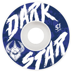 Darkstar Chalk Skateboard Wheels - White - 51mm (Set of 4)