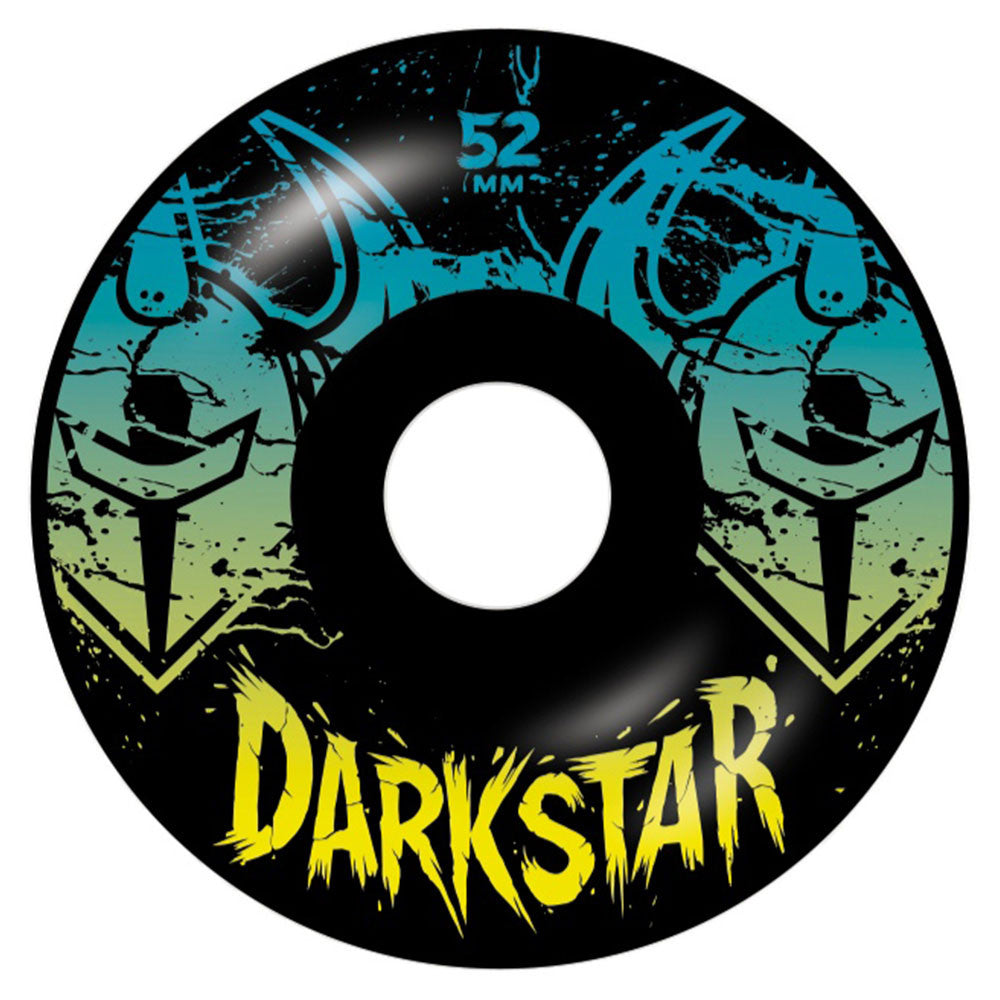 Darkstar Drench Skateboard Wheels - Black - 52mm (Set of 4)