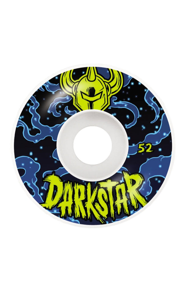 Darkstar Zodiak Skateboard Wheels - Blue/White - 52mm (Set of 4)