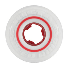 Ricta David Gonzalez Pro Speedrings Skateboard Wheels 53mm 81b - White/Red (Set of 4)